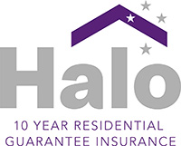 Halo 10 year Residetial Guarantee Insurance logo